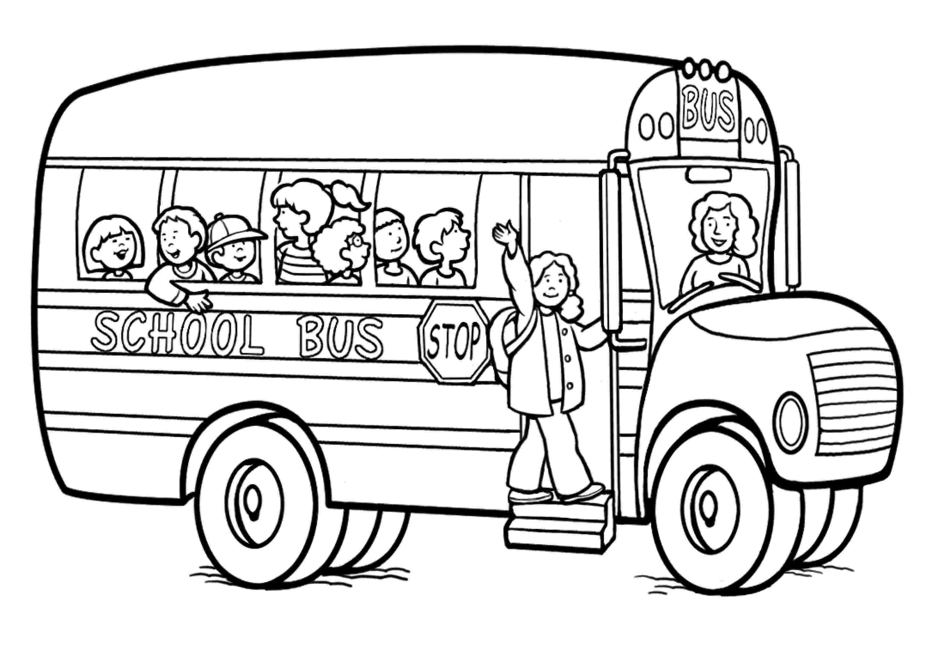 coloring pages of school bus printable school bus coloring page for kids cool2bkids bus of pages coloring school