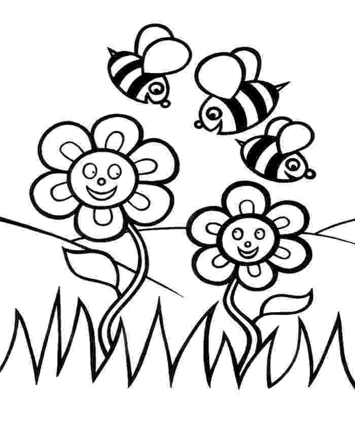 coloring pages of spring flowers printable spring flower coloring pages best coloring spring coloring pages flowers of