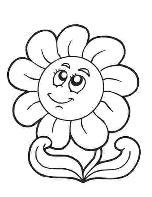 coloring pages of spring flowers spring flower coloring pages to download and print for free coloring flowers pages spring of