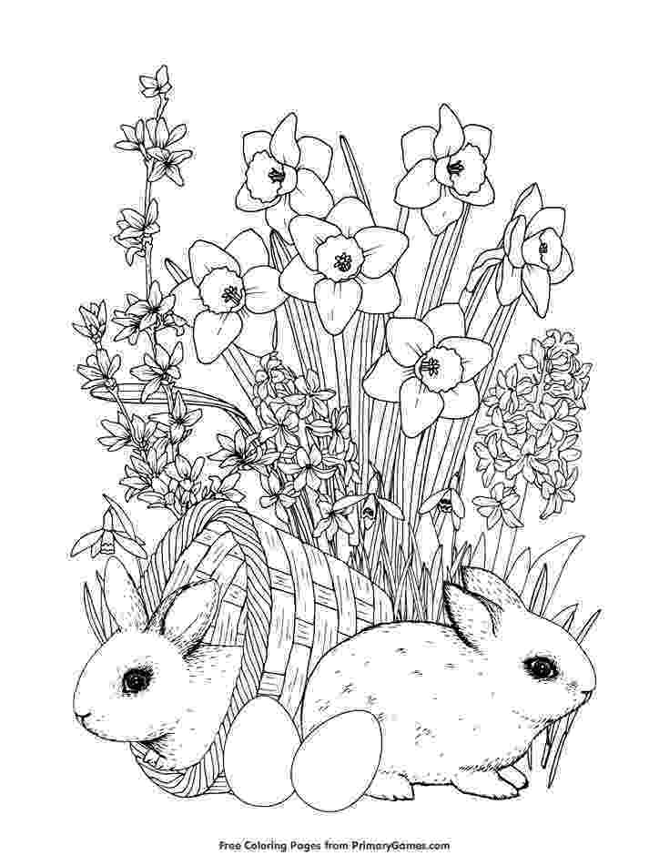 coloring pages of spring flowers spring seasons janice39s daycare spring pages of coloring flowers