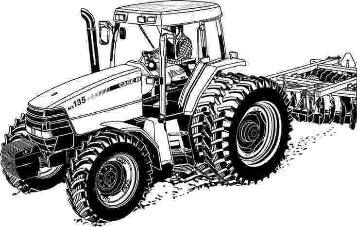 coloring pages of tractors tractor coloring pages getcoloringpagescom coloring pages tractors of