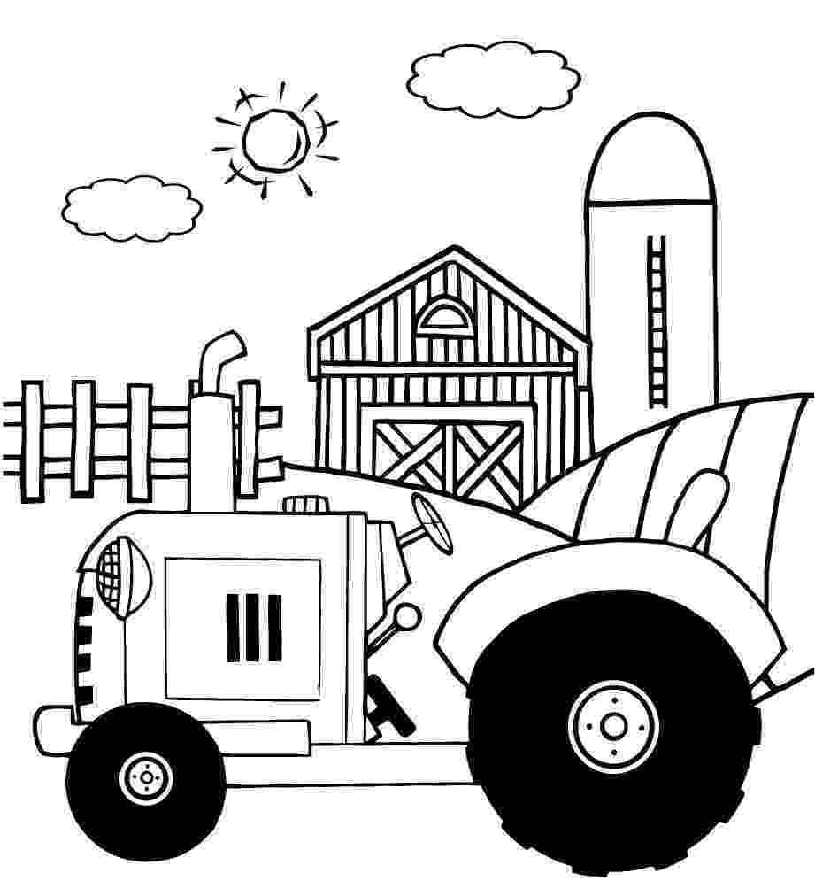coloring pages of tractors tractor coloring pages to download and print for free pages tractors coloring of
