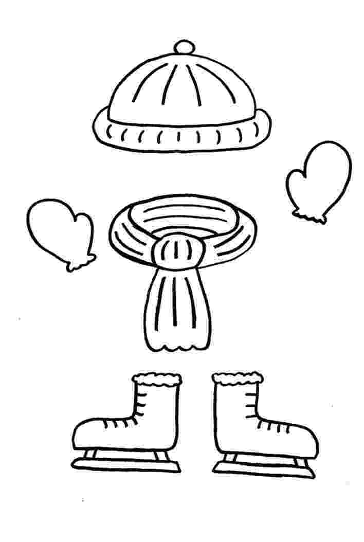 coloring pages of winter clothes coloring page of winter clothes coloring home winter clothes pages coloring of
