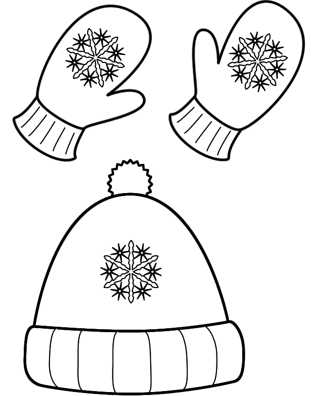 coloring pages of winter clothes free printable winter coloring pages for kids coloring clothes winter of pages