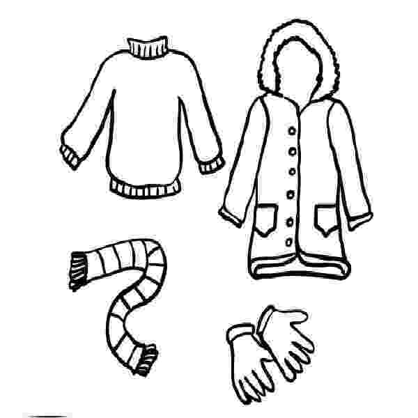 coloring pages of winter clothes pictures of winter clothes for kids free download on of pages winter coloring clothes