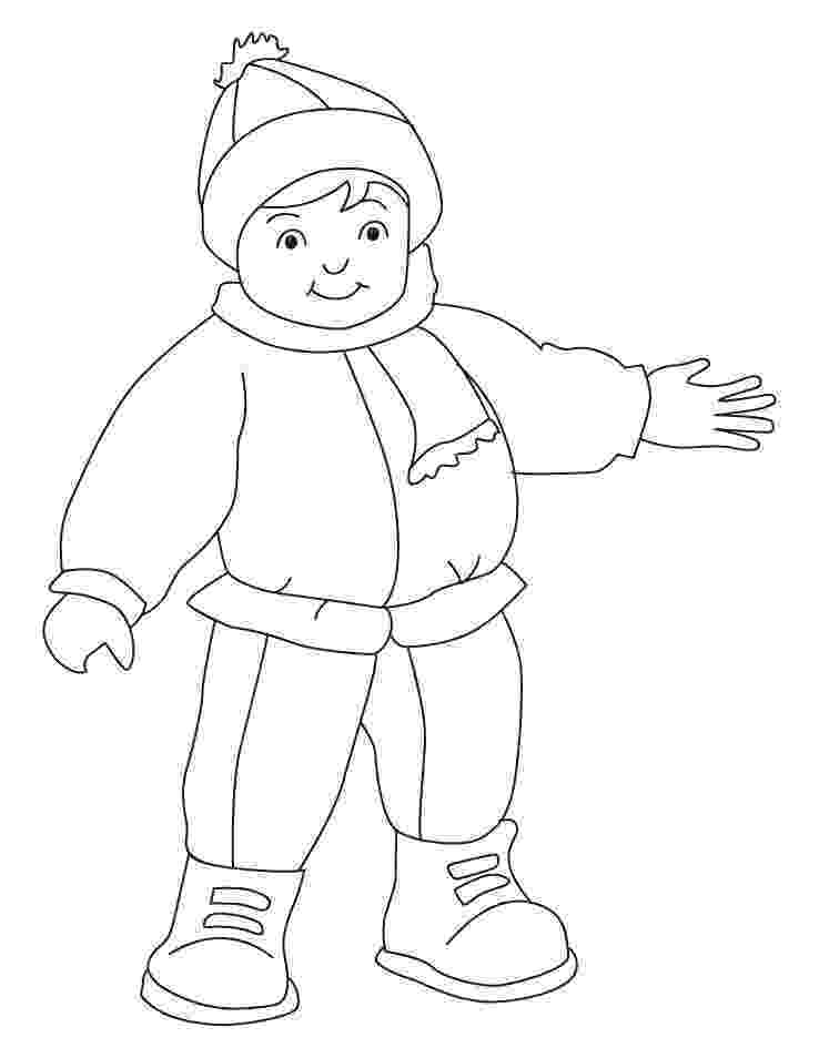 coloring pages of winter clothes winter clothes coloring pages coloring home coloring of pages clothes winter