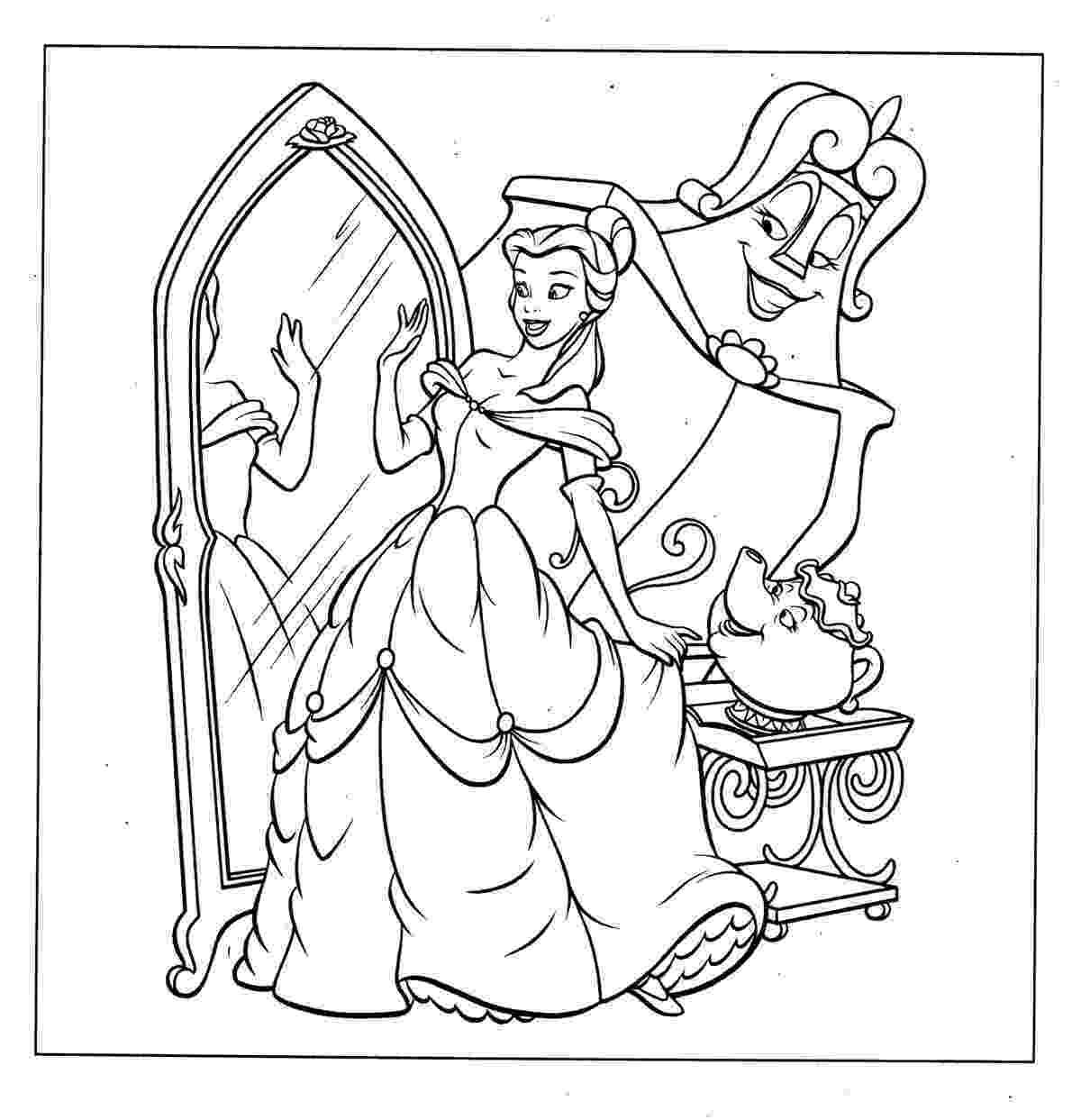coloring pages princess belle disney princess belle coloring pages to kids princess coloring belle pages