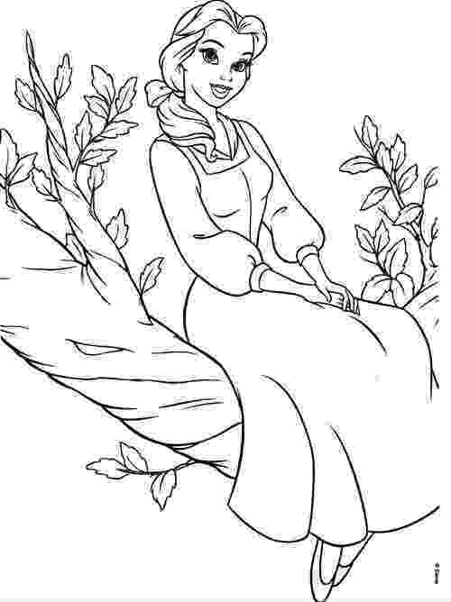 coloring pages princess belle disney princesses belle coloring pages gtgt disney coloring pages belle coloring princess