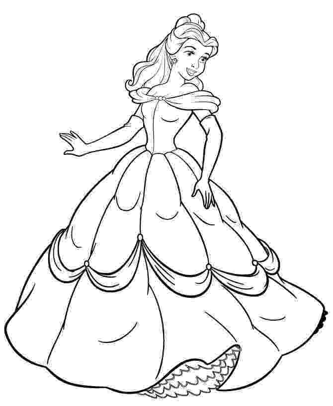 coloring pages princess belle free printable belle coloring pages for kids belle pages coloring princess