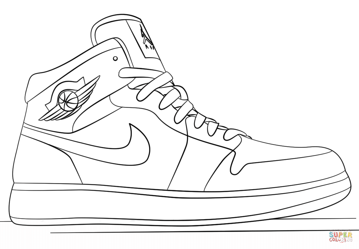 coloring pages shoes coloring pages for shoes google search jordan coloring coloring pages shoes
