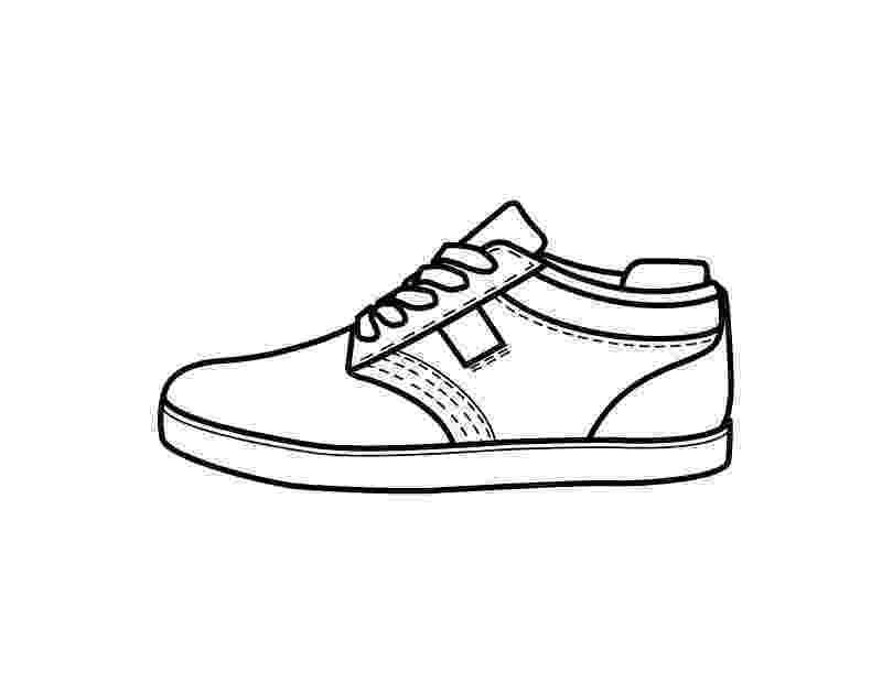 coloring pages shoes jordan shoes coloring pages coloring home pages shoes coloring 1 1