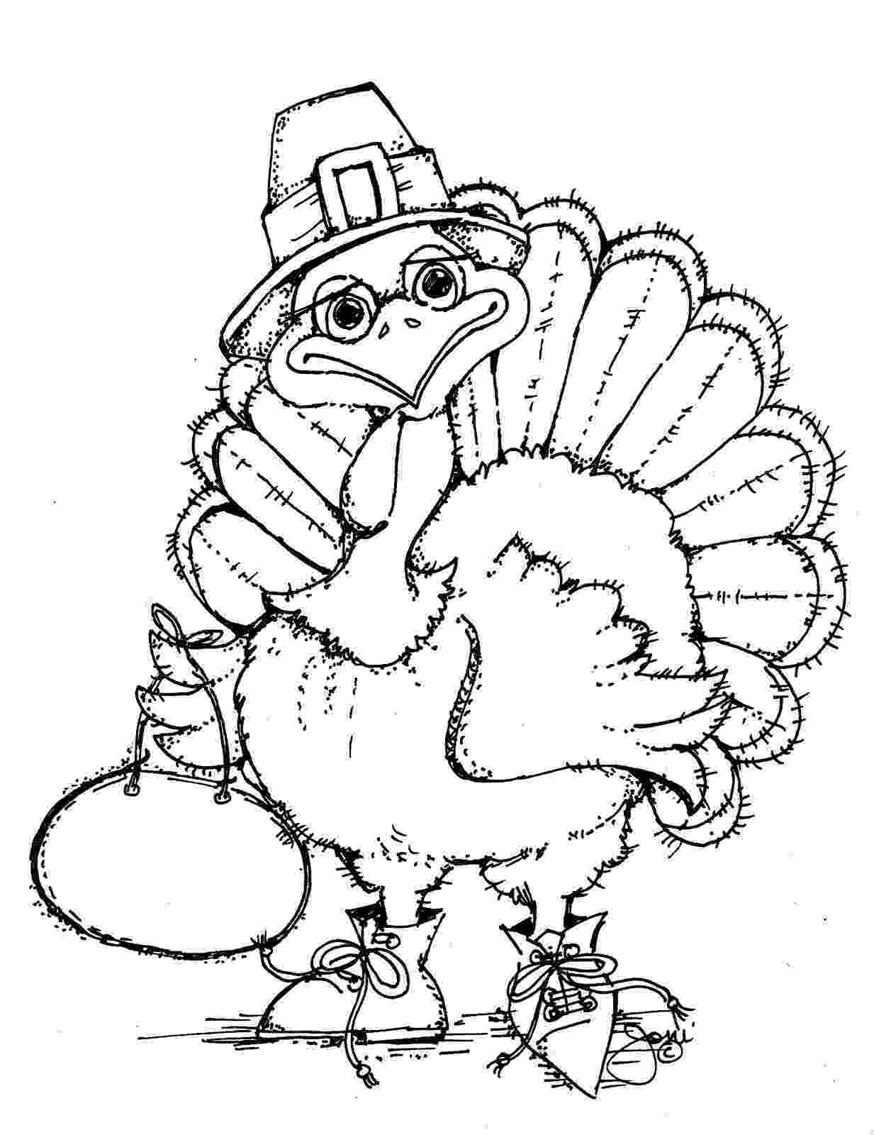 coloring pages turkey free printable turkey coloring pages for kids pages turkey coloring