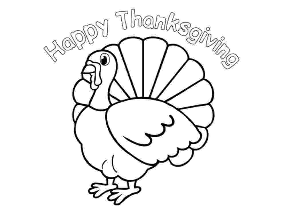 coloring pages turkey happy thanksgiving coloring pages to download and print pages turkey coloring