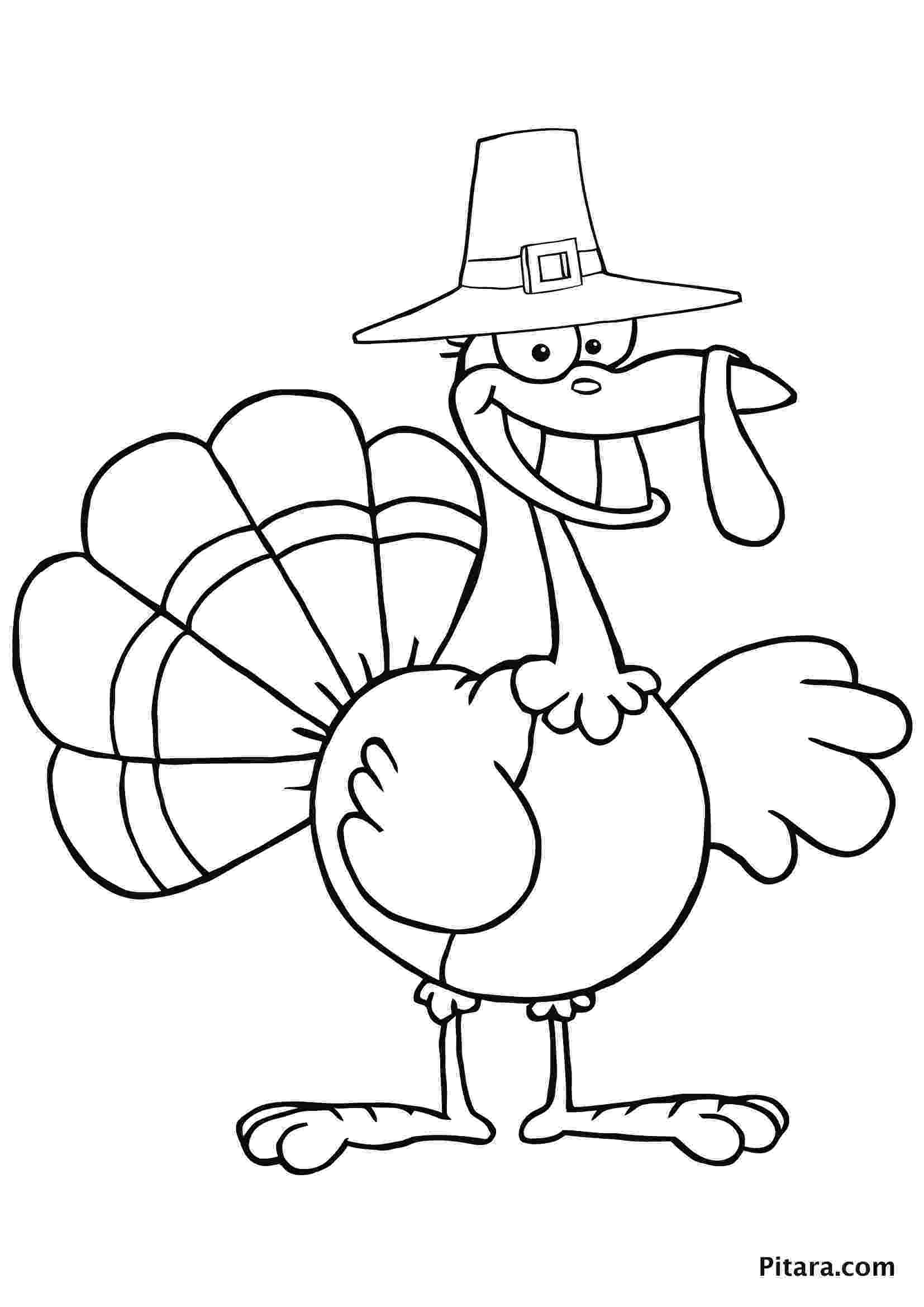coloring pages turkey turkey coloring pages for kids pitara kids network turkey pages coloring