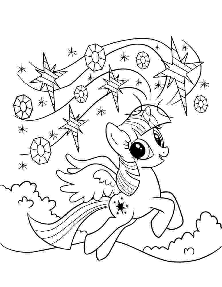 coloring pages twilight sparkle alicorn with wingscoloring pages coloring sparkle pages twilight