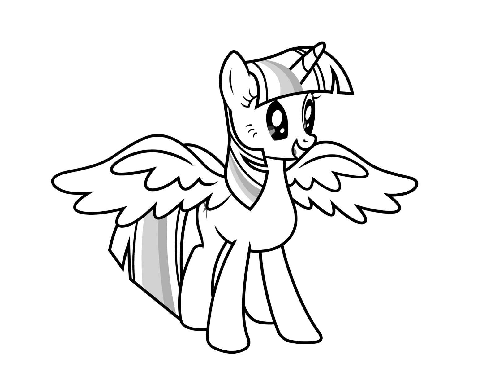 coloring pages twilight sparkle free printable my little pony coloring pages for kids twilight coloring sparkle pages