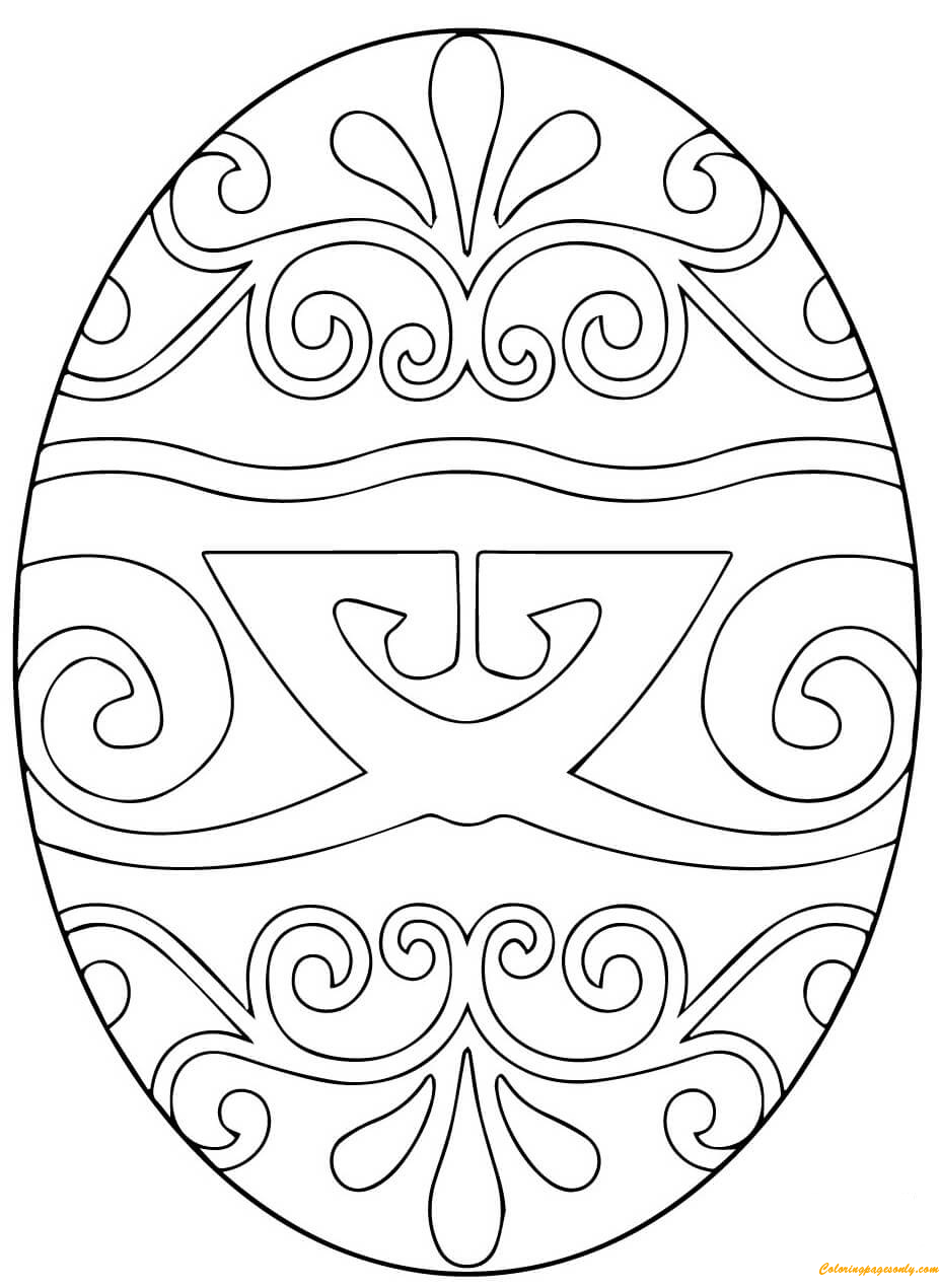 coloring pages ukrainian easter eggs great website for printable pysanky egg designs httpwww ukrainian eggs coloring easter pages