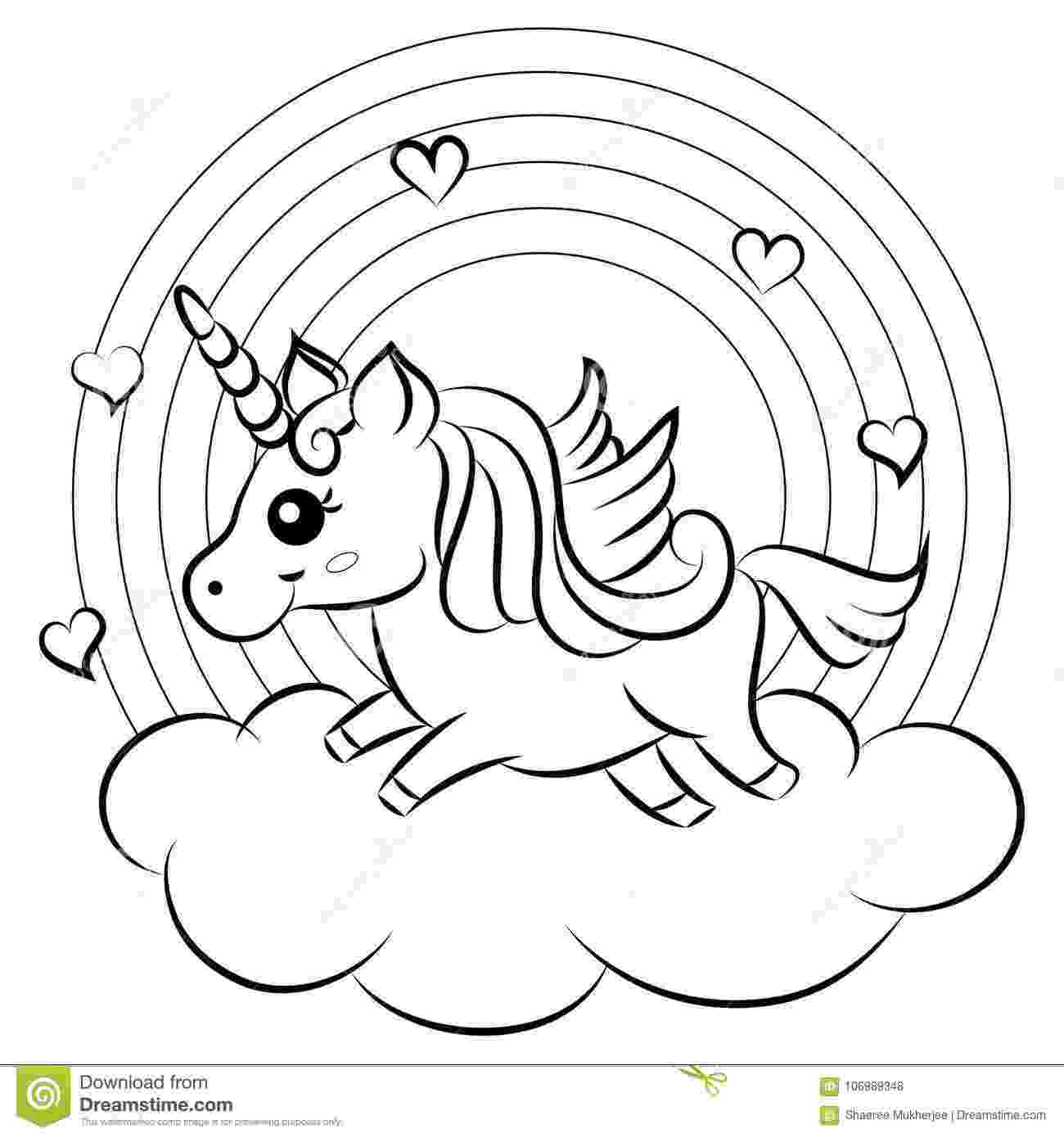 coloring pages unicorns rainbows 9 rainbow coloring pages jpg ai illustrator download pages rainbows unicorns coloring