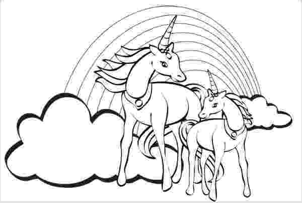 coloring pages unicorns rainbows rainbow unicorn unicorn coloring pages unicorn birthday pages rainbows coloring unicorns