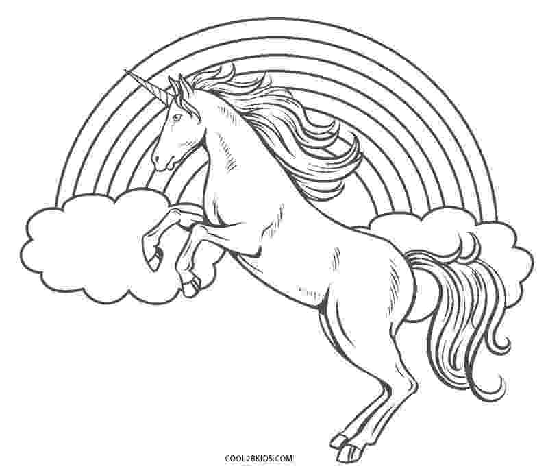 coloring pages unicorns rainbows two unicorn with a rainbow at their back coloring page unicorns pages coloring rainbows