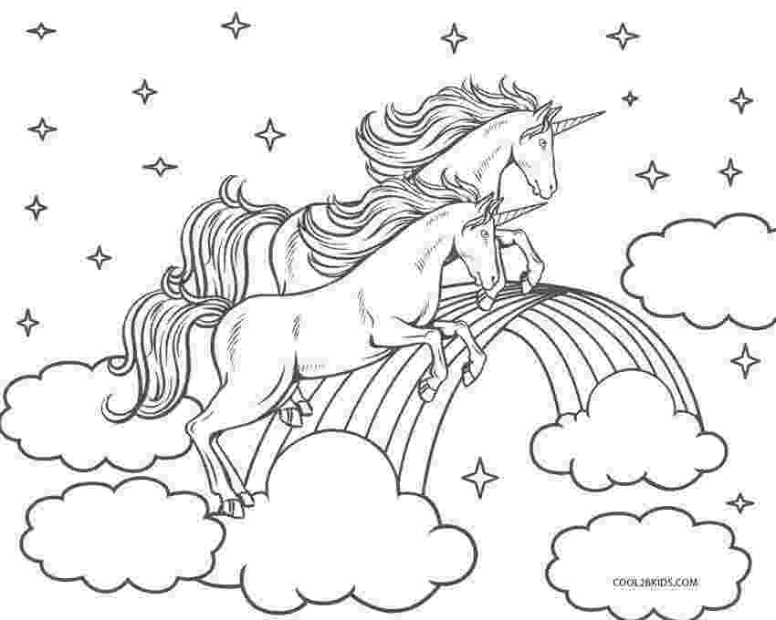 coloring pages unicorns rainbows unicorn coloring page someone is having a unicorn party rainbows coloring unicorns pages