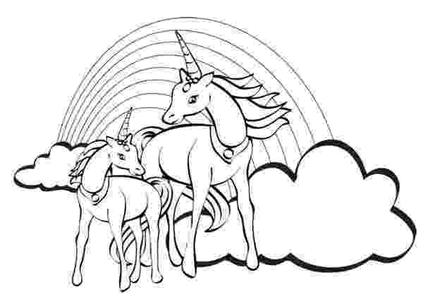 coloring pages unicorns rainbows unicorn coloring pages to download and print for free coloring unicorns rainbows pages