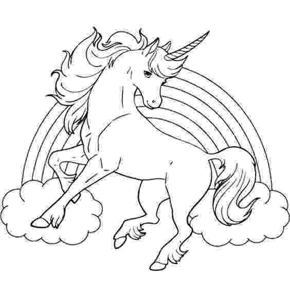 coloring pages unicorns rainbows unicorn horse with rainbow coloring page coloring pages rainbows unicorns pages coloring