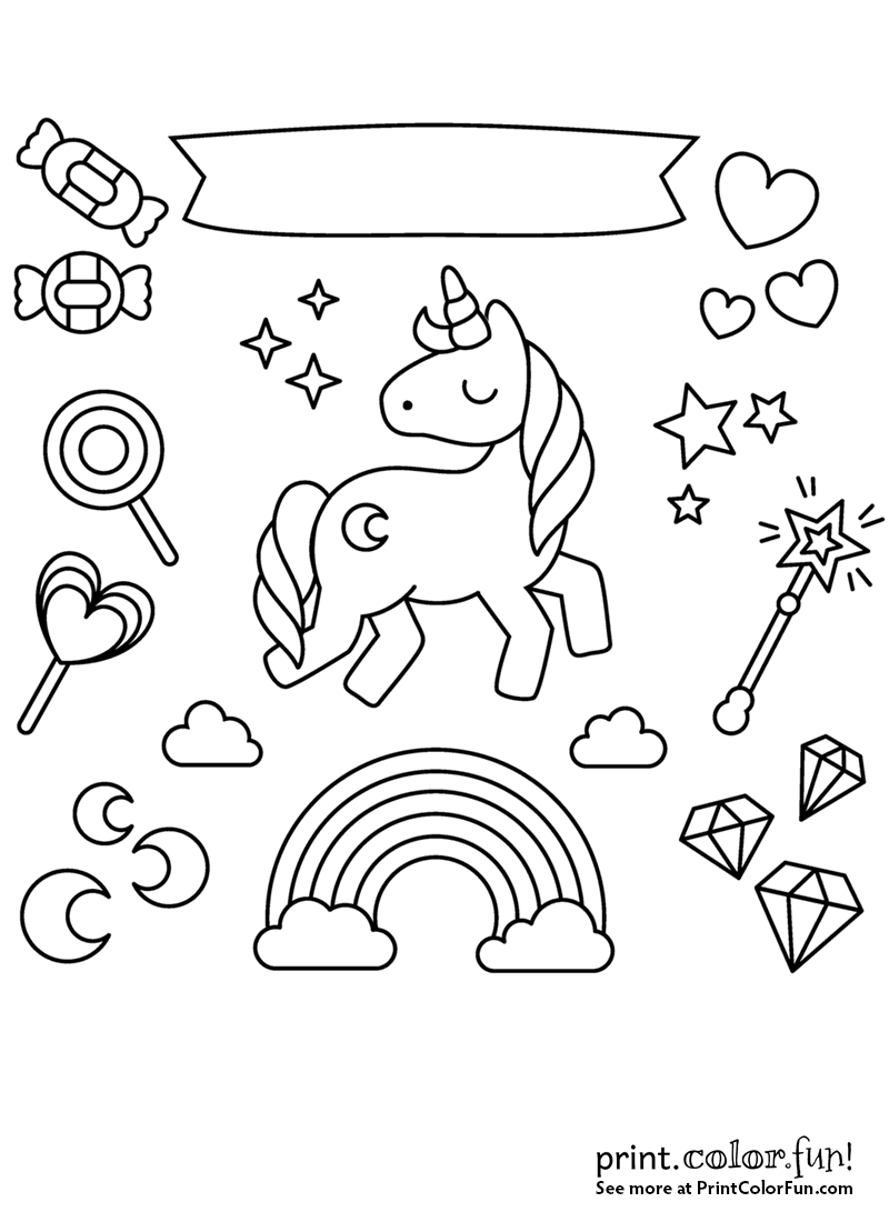 coloring pages unicorns rainbows unicorn rainbow coloring pages coloring home coloring pages unicorns rainbows