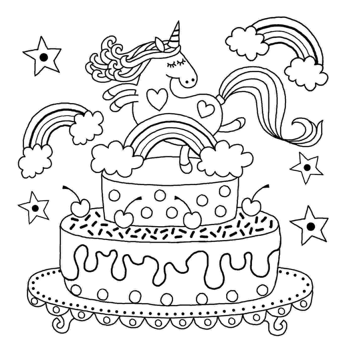 coloring pages unicorns rainbows unicorn rainbow coloring pages coloring home coloring rainbows pages unicorns 1 1