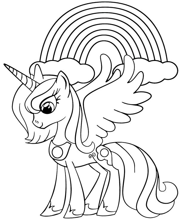 coloring pages unicorns rainbows unicorn rainbow coloring pages coloring home unicorns rainbows pages coloring