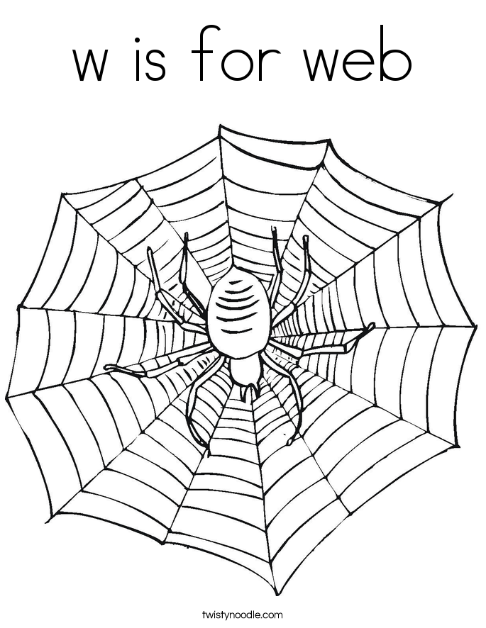 coloring pages websites w is for web coloring page twisty noodle pages websites coloring