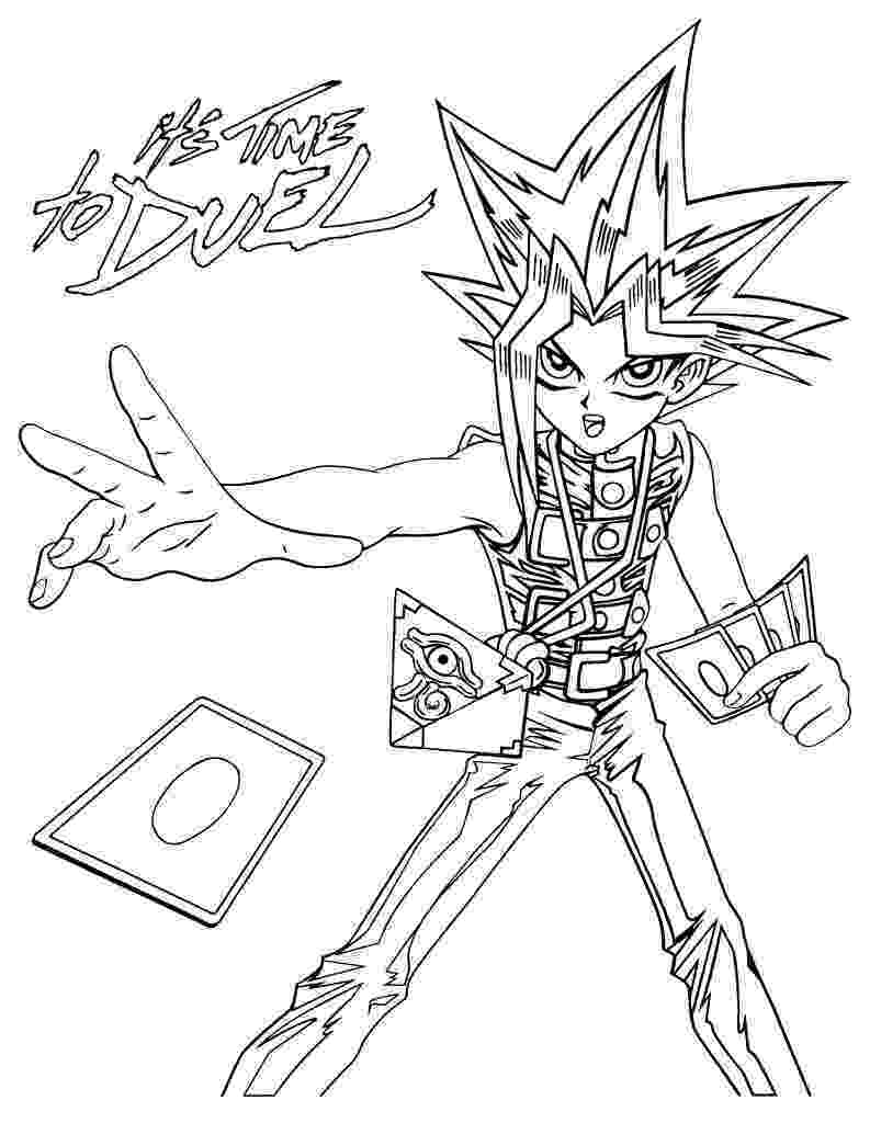 coloring pages yugioh free printable yugioh coloring pages for kids pages yugioh coloring