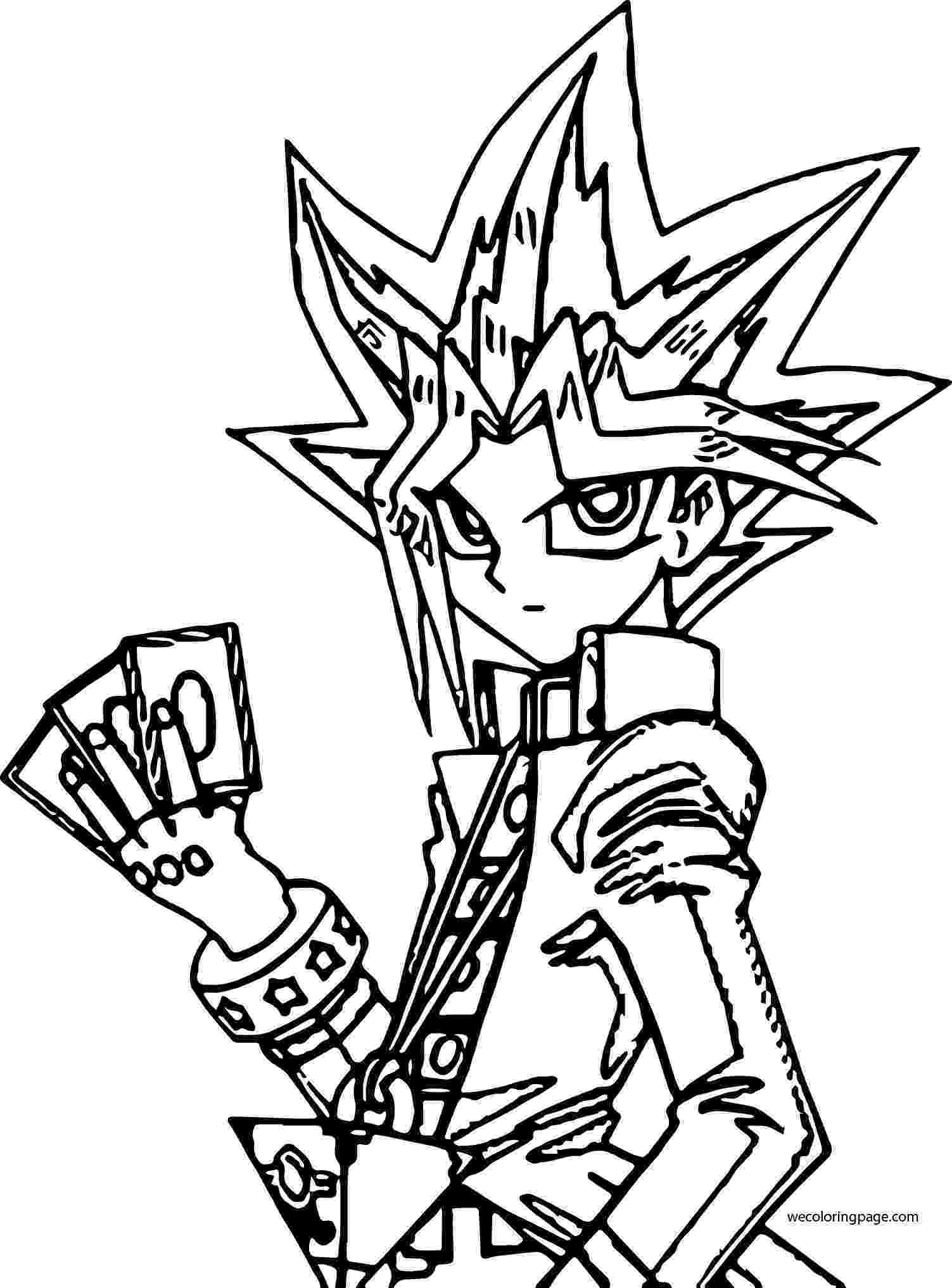 coloring pages yugioh yu gi oh coloring pages to download and print for free yugioh pages coloring