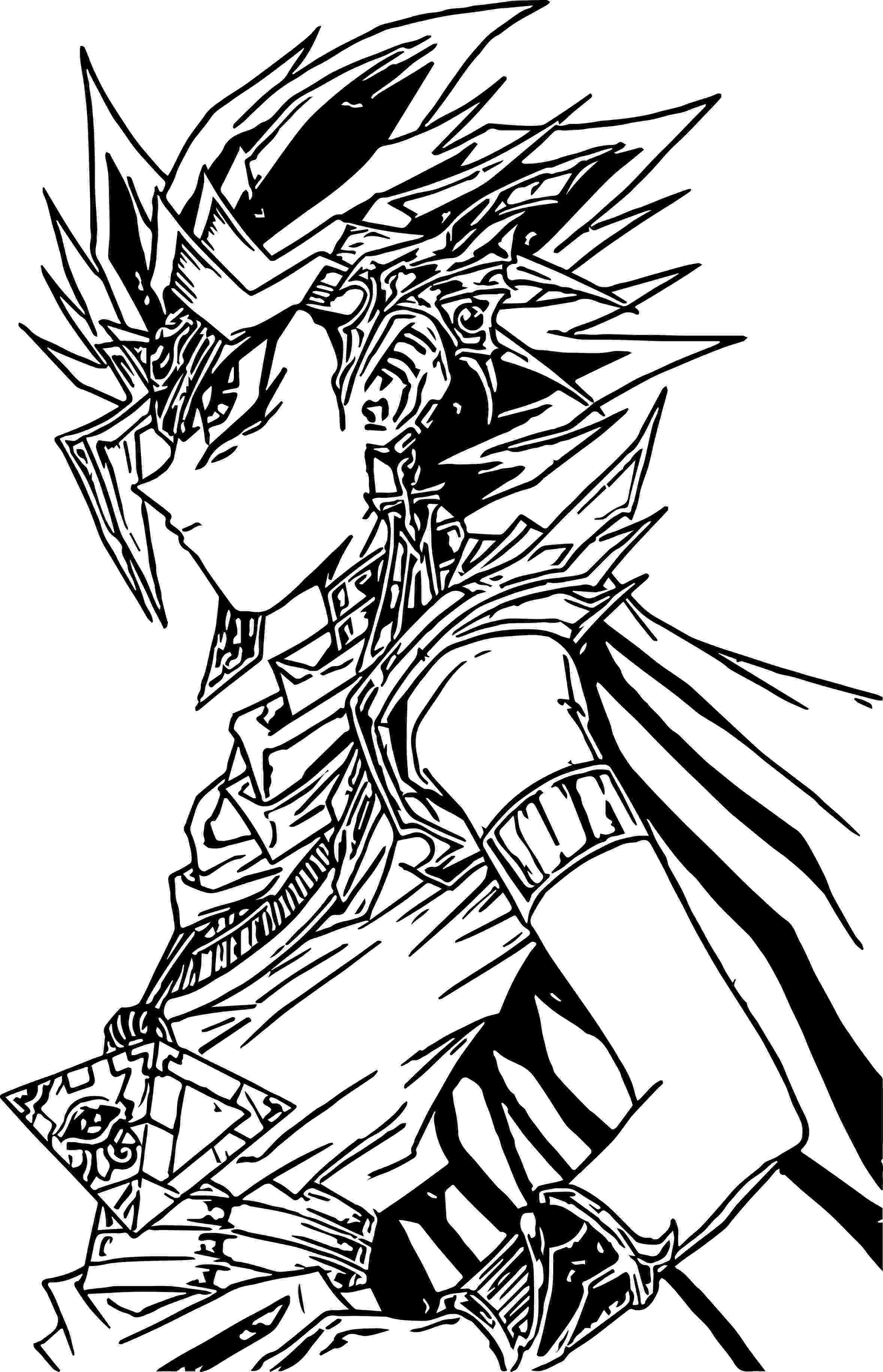 coloring pages yugioh yugioh coloring pages free download on clipartmag yugioh pages coloring 1 1