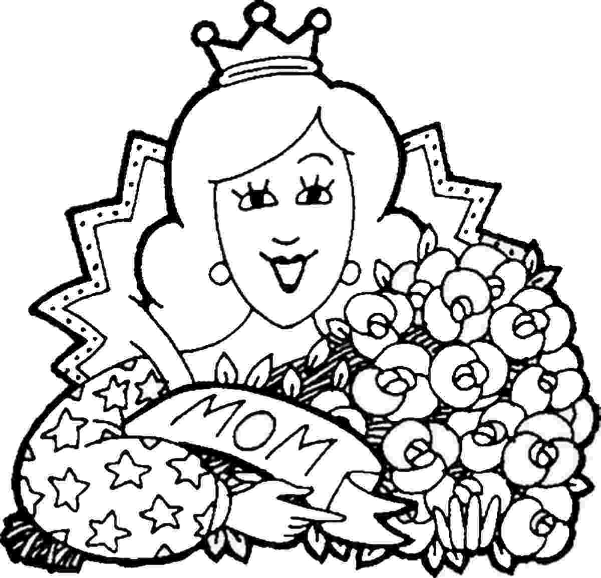 coloring picture for mothers day mother day coloring pages to download and print for free day for picture coloring mothers