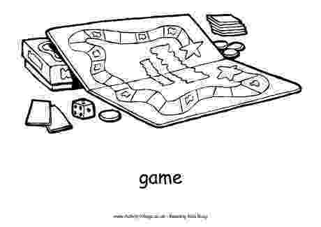 coloring picture games board game colouring page games picture coloring