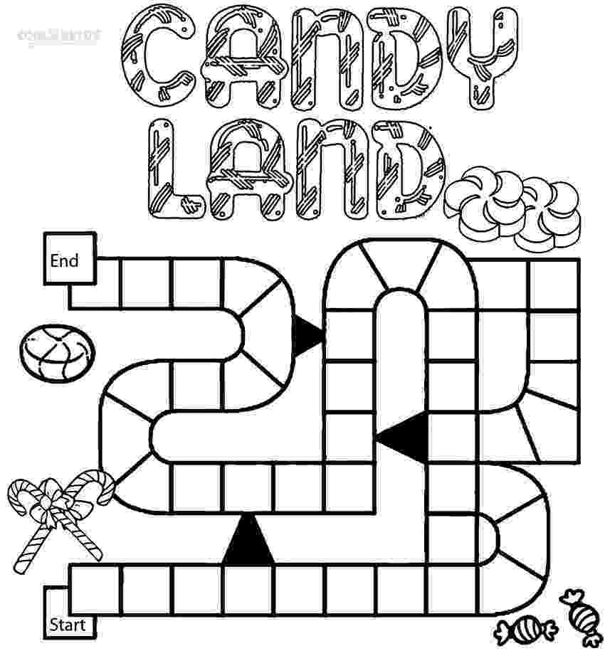 coloring picture games printable candyland coloring pages for kids cool2bkids coloring picture games