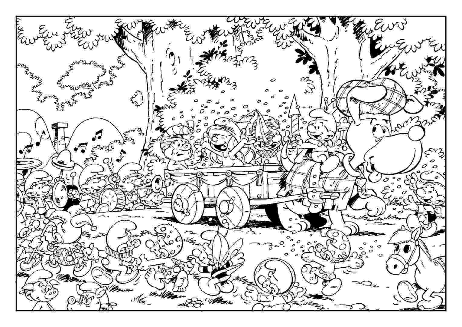 coloring picture games smurfs coloring pages the smurfs official website picture games coloring