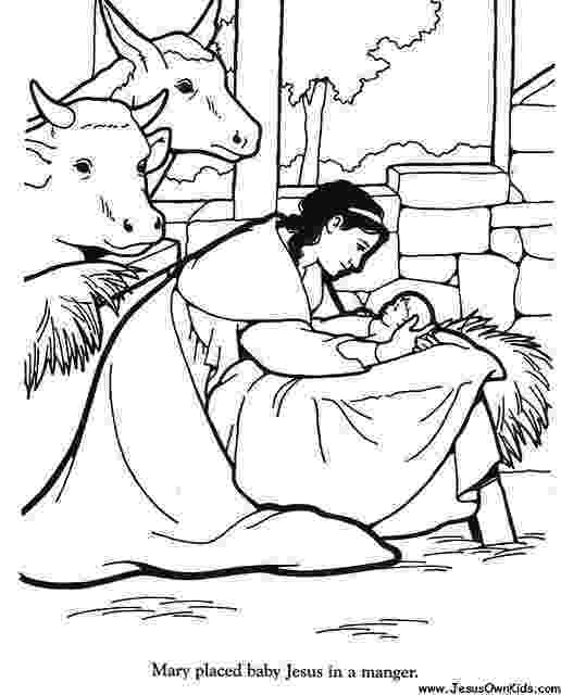 coloring picture of baby jesus in the manger 40b matthew mary placed baby jesus in manger www picture in baby the jesus of coloring manger