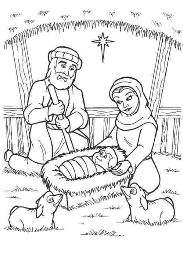 coloring picture of baby jesus in the manger manger coloring page at getcoloringscom free printable coloring the manger jesus in of picture baby