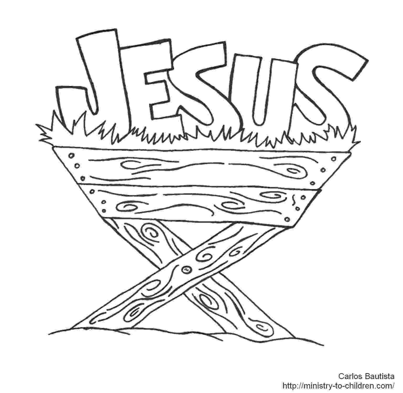 coloring picture of baby jesus in the manger manger coloring page clipart best 204747 coloring page of baby picture coloring in manger jesus the of