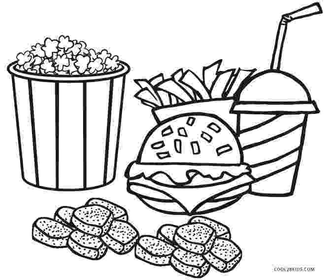 coloring picture of food hot dog drawings clipartsco food of picture coloring
