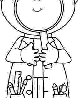 coloring picture of magnifying glass detective dog with magnifying glass coloring page netart glass coloring of magnifying picture
