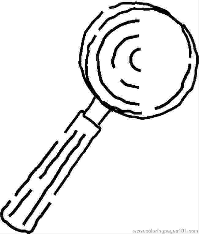 coloring picture of magnifying glass magnifying glass coloring page at getcoloringscom free magnifying coloring picture of glass