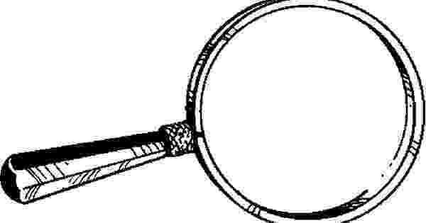 coloring picture of magnifying glass magnifying glass coloring pages of glass magnifying coloring picture