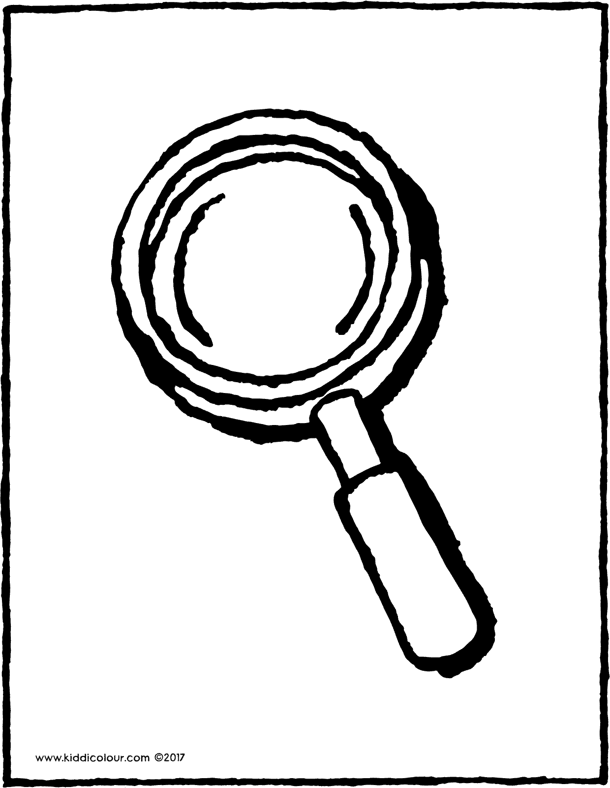 coloring picture of magnifying glass magnifying glass drawing at getdrawingscom free for picture coloring magnifying of glass