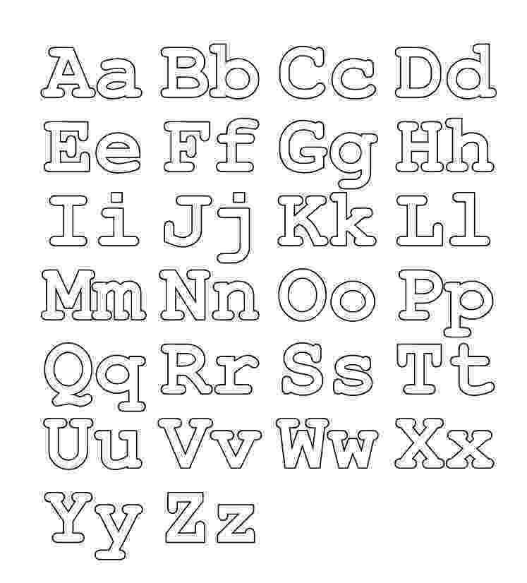 coloring pictures of alphabet letters free printable coloring alphabet letters ausdruckbares pictures coloring letters of alphabet