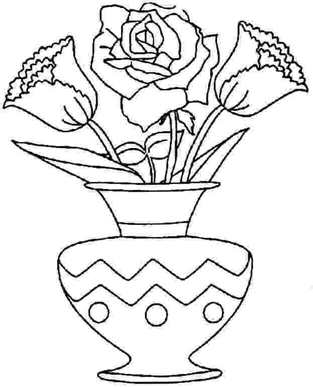 coloring pictures of bouquet of flowers bouquet of flowers coloring pages for childrens printable pictures bouquet flowers coloring of of