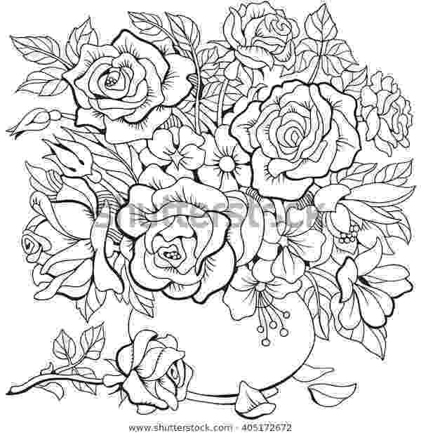coloring pictures of bouquet of flowers coloring pictures of bouquet of flowers of of pictures coloring flowers bouquet