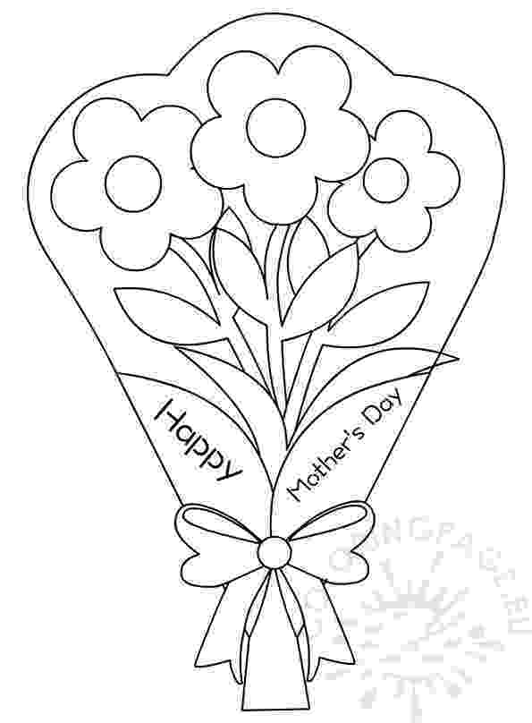 coloring pictures of bouquet of flowers wedding bouquet colouring page coloring flowers of pictures bouquet of